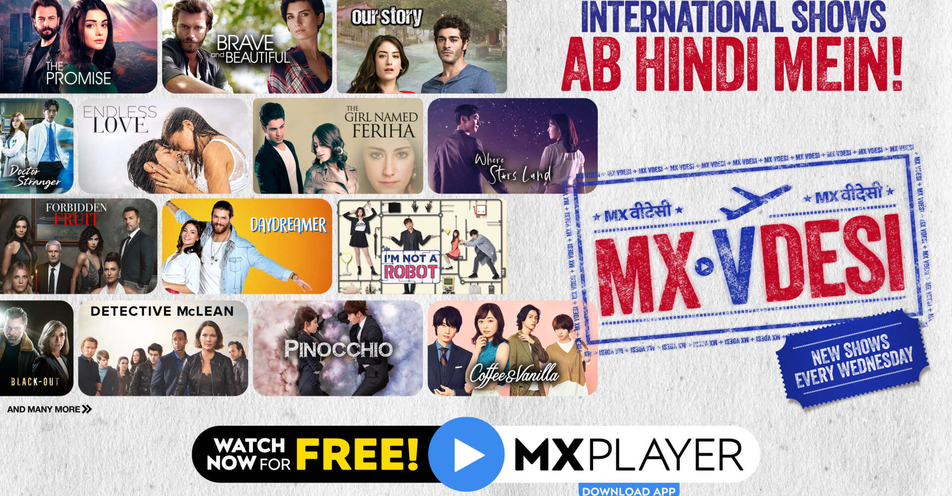 'MX VDesi' to host international shows dubbed in Hindi, Tamil & Telugu